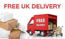 ScrubVac offer Free Delivery in the UK!